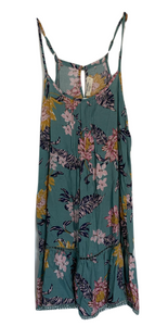 Kennedy Dress - Aqua Tropical