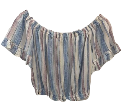Tia Top - Multi Stripe