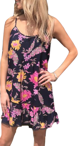 Kennedy Dress - Multi Tropical