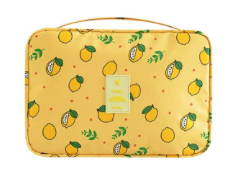 Lemon Makeup Bag