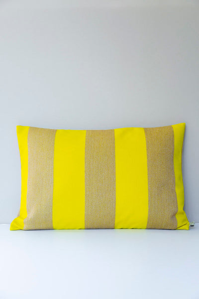 Reflex Yellow Cushions: Raf Simons