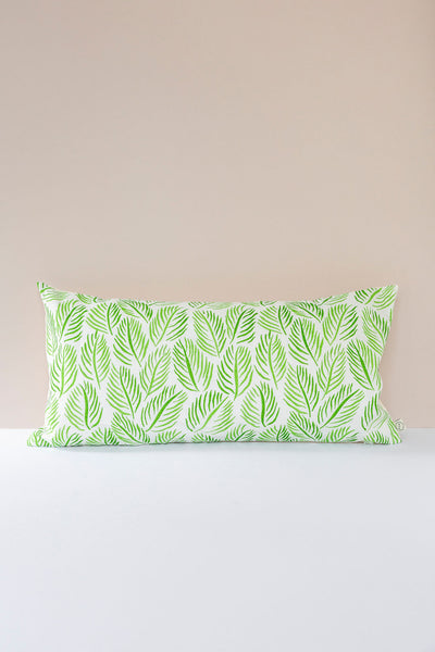 Armature Feuilles Cushions in Green: Raoul Dufy 30 x 60cm
