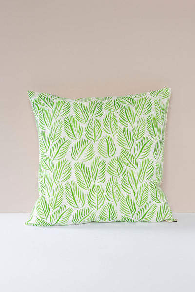 Armature Feuilles Cushions in Green: Raoul Dufy 50 x 50cm