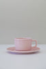 light peony cup and saucer
