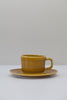 golden syrup cup and saucer