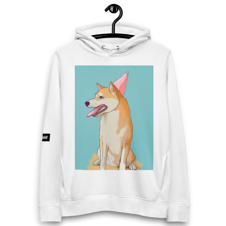 Illustrated Pullover Hoodie