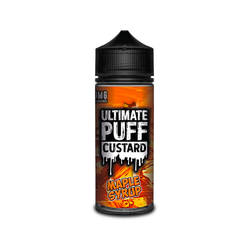 Ultimate Puff Custard - Maple Syrup 100ml
