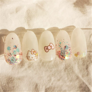 HANDMADE HELLO KITTY DREAM PRESS-ON NAIL SET