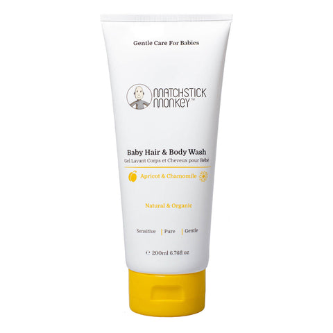 matchstick monkey babycare hair and body wash