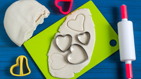 salt dough activities for kids
