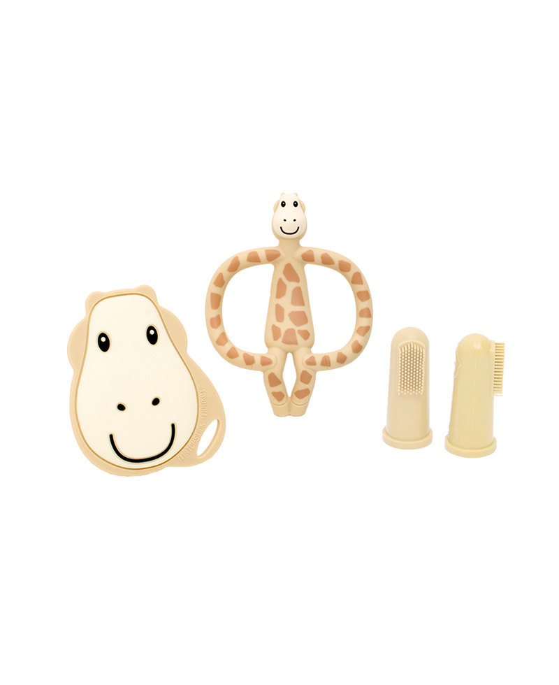GIGI GIRAFFE TEETHING STARTER SET