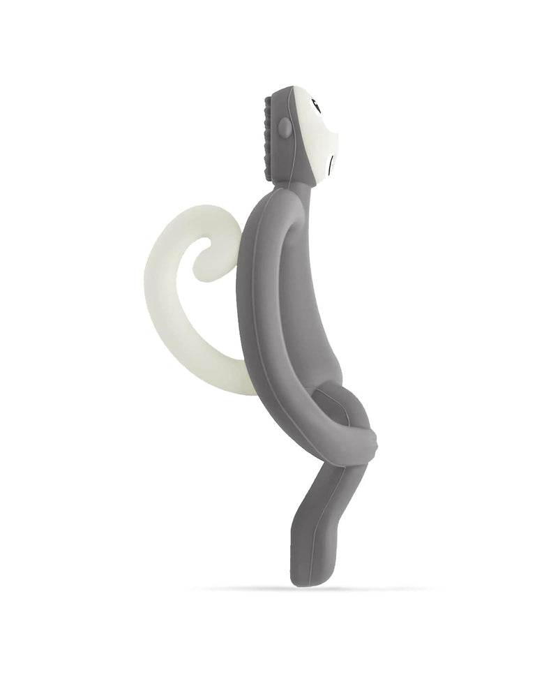 Grey Monkey Teether - Side