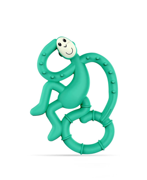 GREEN MINI MONKEY TEETHER
