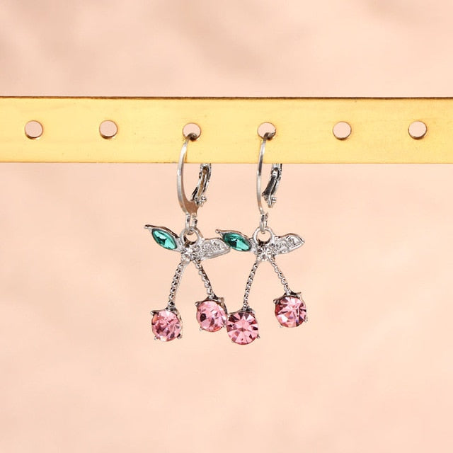 Baby Cherry Earrings
