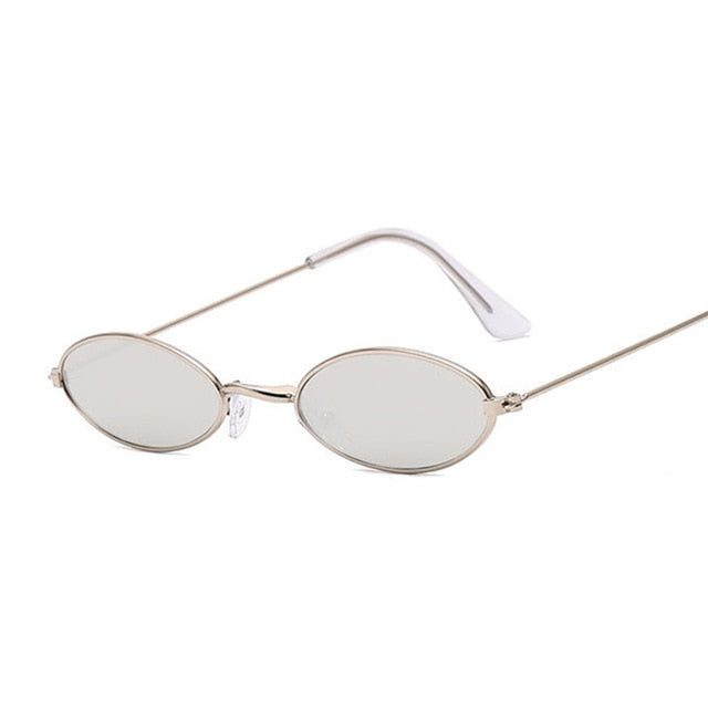 Retro Small Oval Sunglasses