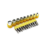 451 -24pcs T shape screwdriver set Batch Head Ratchet Pawl Socket Spanner hand tools