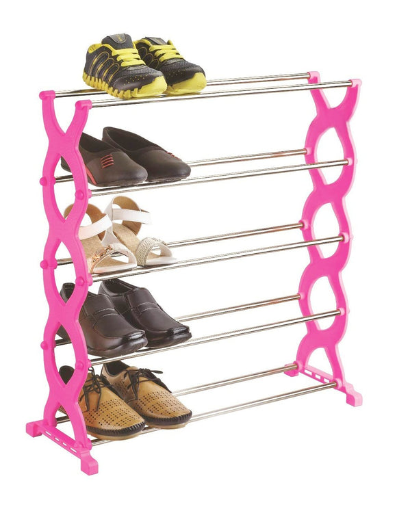 0520 Stackable 5 Layer Folding Shoe Rack