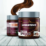 Chocotown Chocolate Spreads - Cocoa Spreads and Milk Spreadss- 350 gm
