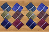 594 Men's Cotton Handkerchief (Multicolor, 12 pcs)