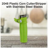 2048 Plastic Corn Cutter/Stripper with Stainless Steel Blades