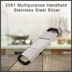 2061 Multipurpose Handheld Stainless Steel Slicer