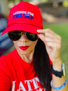 Latinos for Trump Hat