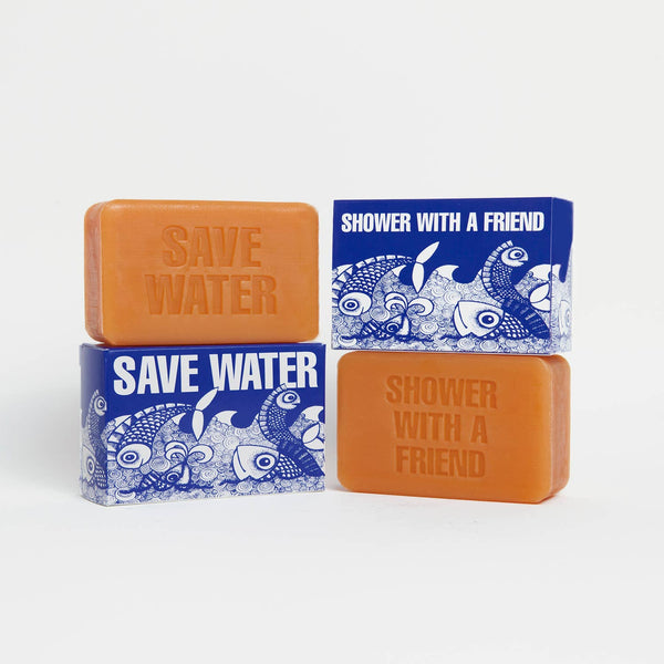 Save Water/Shower with a Friend Soap