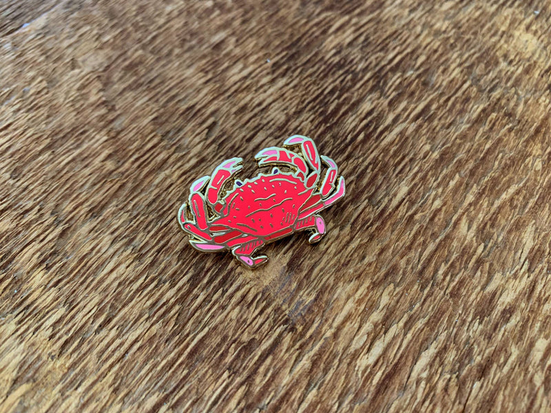 Crab Enamel Pin