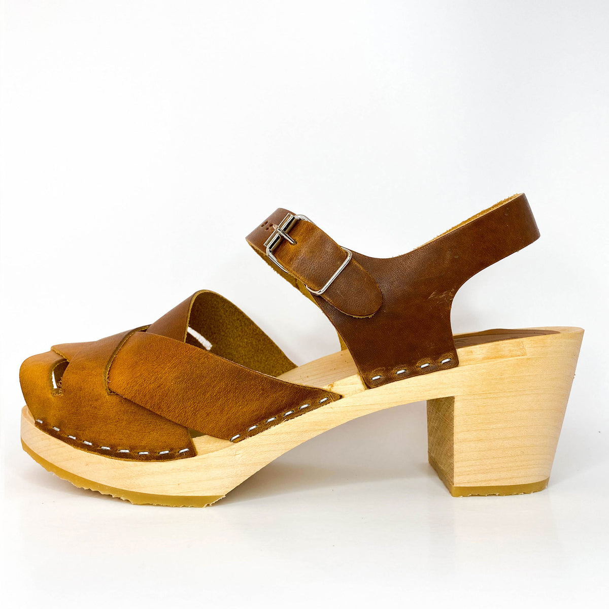Emelia clog - high base