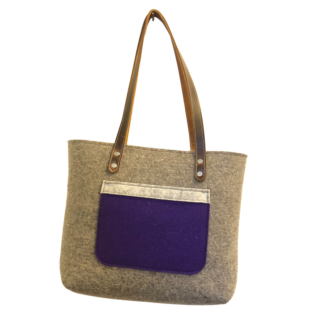 Baby Disco - thick wool tote