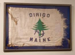 Dirigo Maine Flag Camp Mug