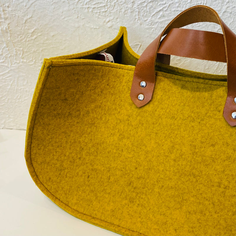 "Merino Wool Felt ""Project Tote"" - LIMITED"