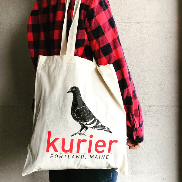 Kurier Canvas Shopping Tote