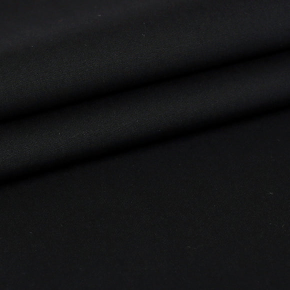 Black - 100% Cotton, Custom Shirt Fabric