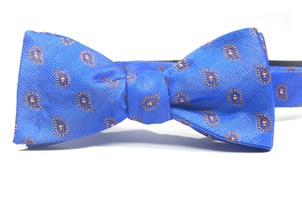 Royal Electric - 100% Silk Bow Tie (Self Tie)