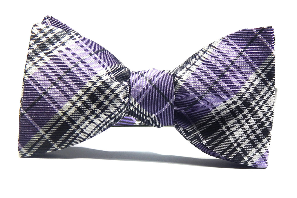 The Friday Night Bow Tie - 100% Silk Bow Tie (Self Tie)