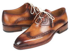 Paul Parkman Goodyear Welted Ghillie Lacing Wingtip Brogues
