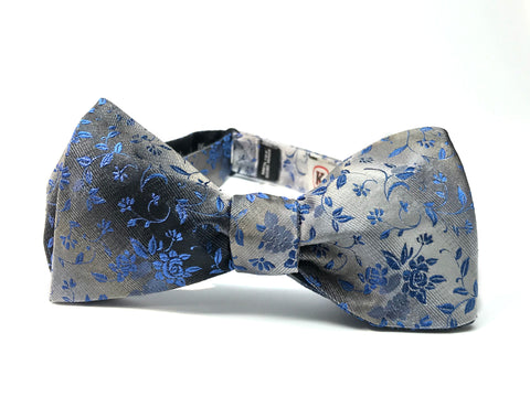 Gradience, 100% Silk Woven Bow Tie (Self Tie)