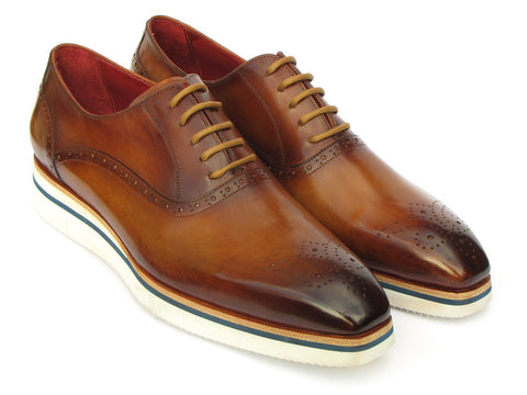 Paul Parkman Smart Casual Men's Brown Oxfords