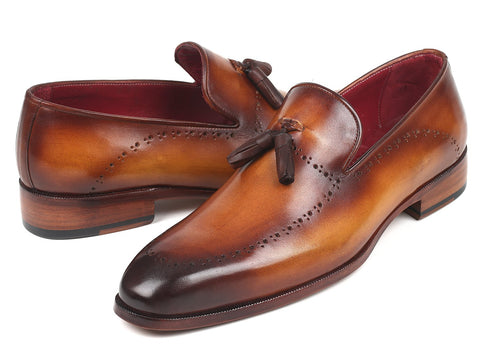 Paul Parkman Men's Tassel Loafer Brown