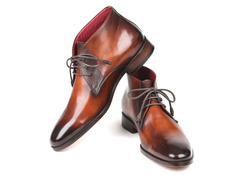 Paul Parkman Chukka Boots Camel & Brown