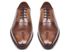 Paul Parkman Men's Antique Brown Oxfords