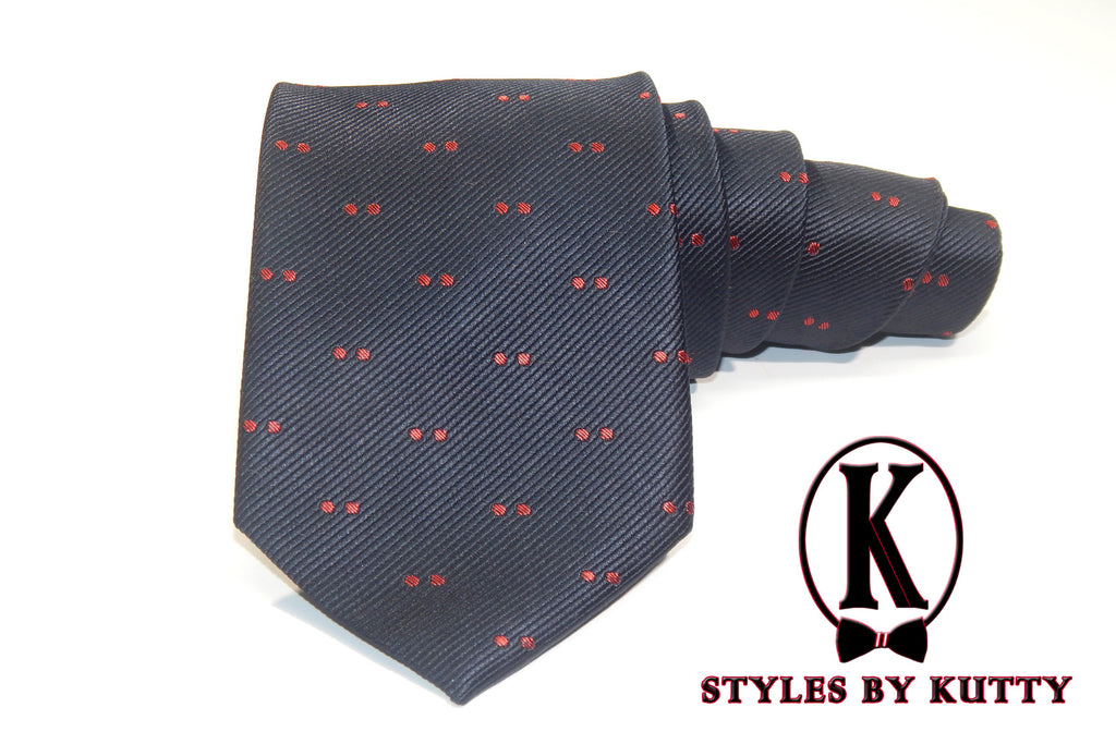 The Cherry Picker - 100% Silk Woven Tie