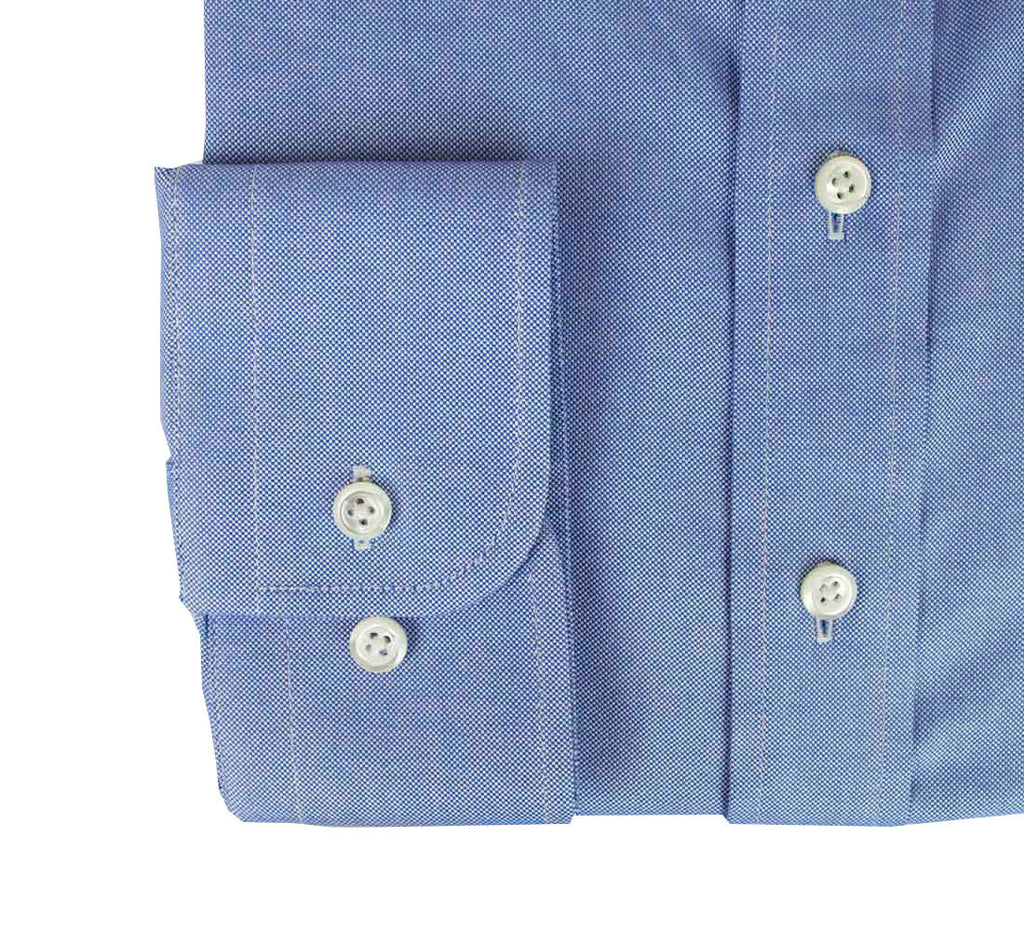 Blue Custom Shirt Fabric- 100% Cotton