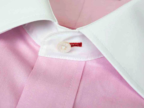 Pink Custom Shirt Fabric - 100% Cotton