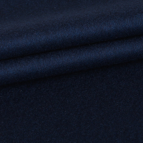 Custom Overcoat - Navy Blue
