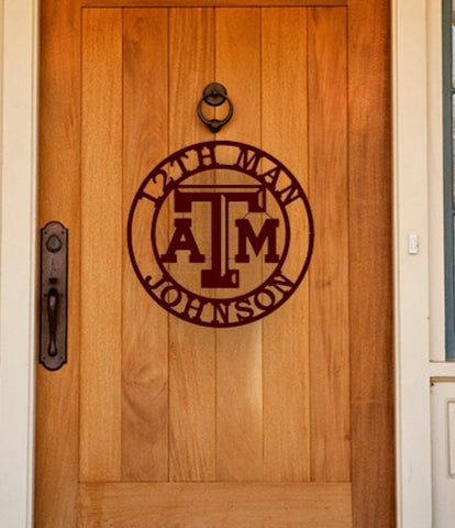 12th Man Monogram Sign
