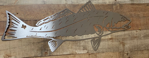 Texas Redfish Sign