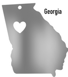 Georgia State Ornament