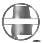 Alabama State Monogram